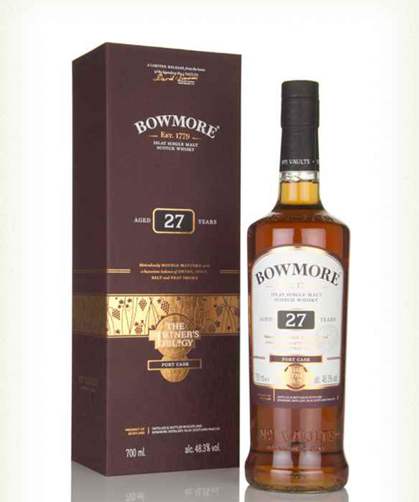 Bowmore 27 Year Old Port Cask Vinters Trilogy