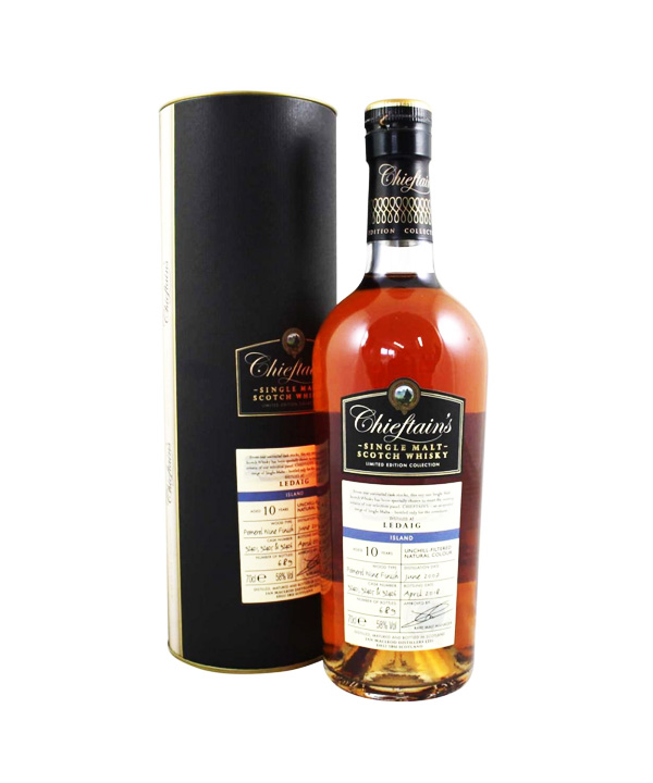 Ledaig – Chieftain's Limited Edition Collection – 2007 10 year old