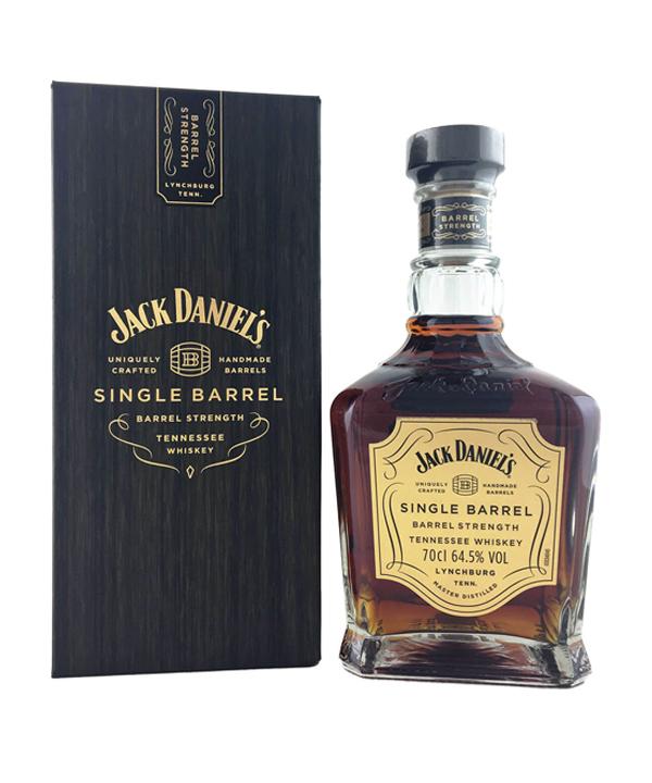 Jack Daniels's Single Barrel-Barrel Strength 64.5%